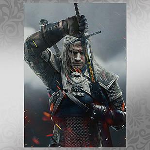 Плакат Ведьмак 006