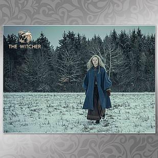 Плакат Ведьмак 008