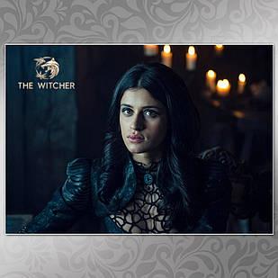 Плакат Ведьмак 009