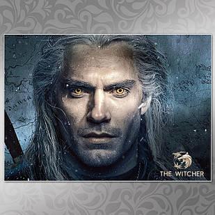 Плакат Ведьмак 010