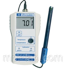 Профессиональный PH-метр Milwaukee MW101 (0.01pH) ,США
