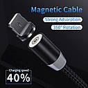 YKZ Магнитный Type C USB кабель зарядный шнур для мобильного, фото 10