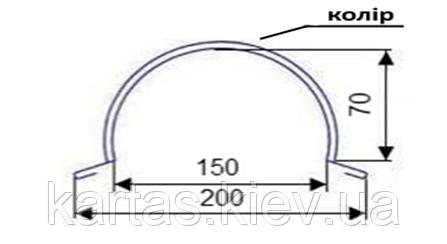 Конек круглый К-01