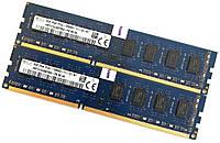 Пара оперативной памяти Hynix DDR3L 16Gb (8Gb+8Gb) 1600MHz PC3L 12800U 2R8 CL11 (HMT41GU6BFR8A-PB N0 AA) Б/У