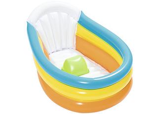 Детский надувной бассейн для малышей (детская надувная ванночка) bestway
