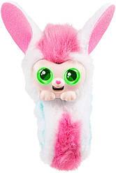 Интерактивная игрушка браслет на руку зайка Бонни Little Live Wrapples - Slap Bracelets - Bonnie