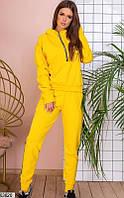 Женский спортивный костюм желтый 63620