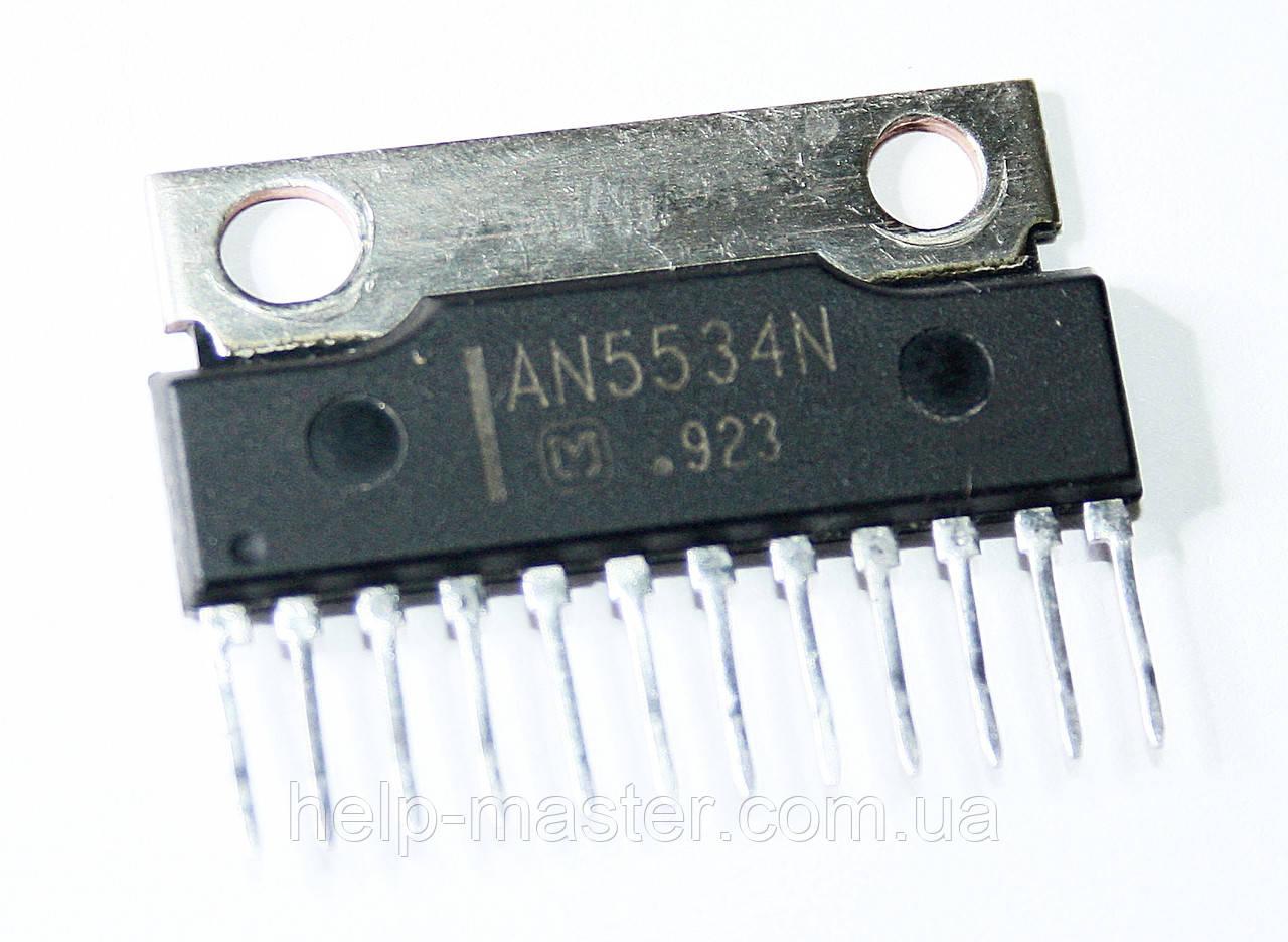 Микросхема AN5534N (HSIP-12)