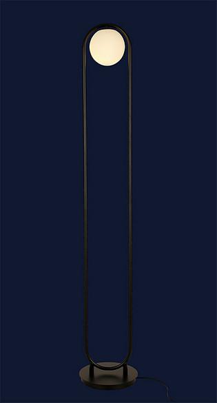 Стильный напольный светильник 918F298-1 BK