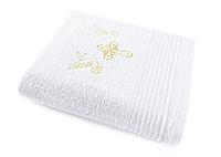 Крыжма белая (крестильное полотенце) 140х70см 100% хлопок