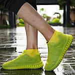Многоразовые бахилы на обувь от воды Waterproof Silicone Shoe + Перчатки iGlove, фото 5