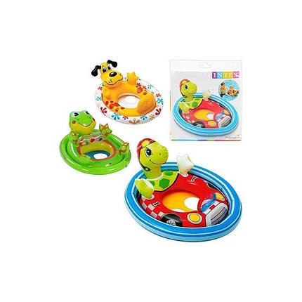 Круг-плотик надувной детский Intex 59570   , фото 2