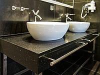 Из какого материала лучше покупать столешницу для ванной комнаты