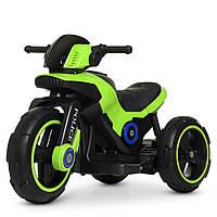 Детский трехколесный мотоцикл Bambi Салатовый
