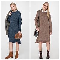 Платье вязка, модно и стильно, а также очень уютно даже в самые холода, р.42-48, код 2963М