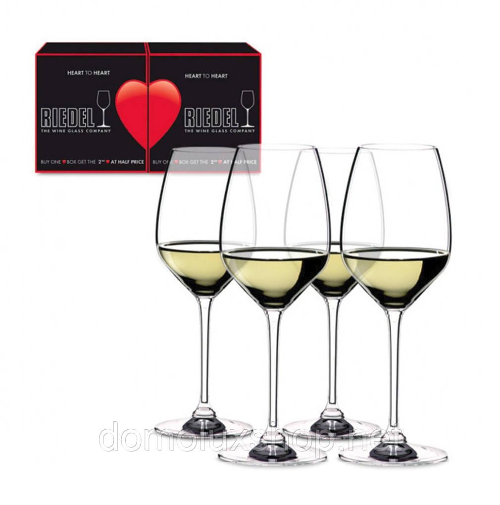 Riedel Heart To Heart Набор бокалов для вина 4*460 мл (5409/05)