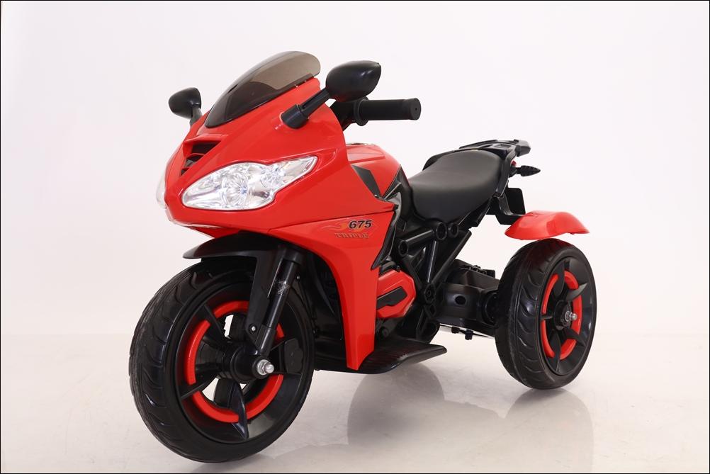 Детский мотоцикл T-7222 белый