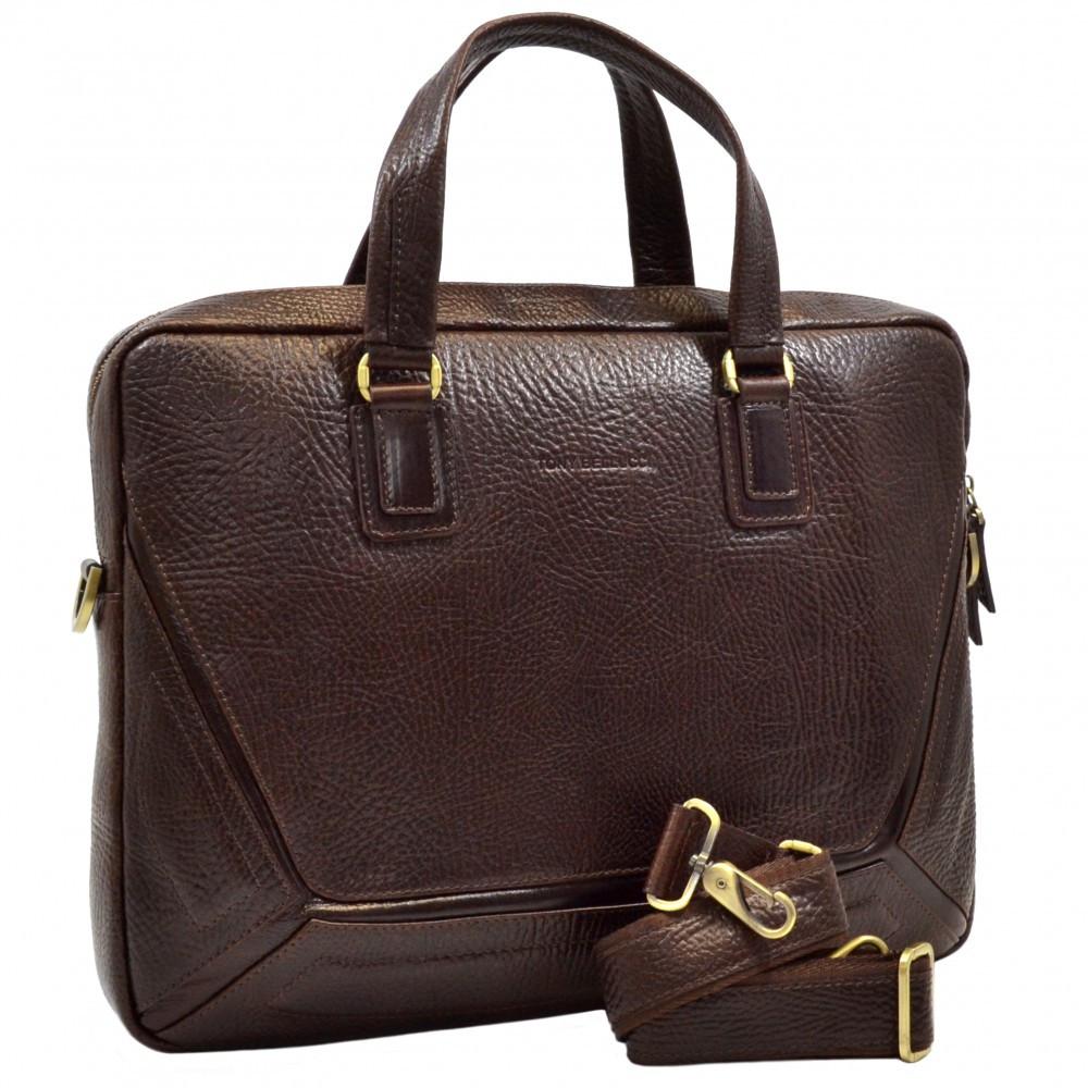 Деловая сумка Tony Bellucci из натуральной кожи