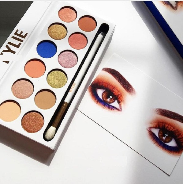 Тени для век Kylie (Кайли) Kyshadow The Royal Peach Palette - Kylie