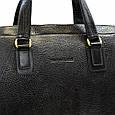 Деловая сумка Tony Bellucci из натуральной кожи, фото 7
