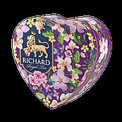 Чай черный листовой Richard Royal heart (Ричард), 30 г в ж/б