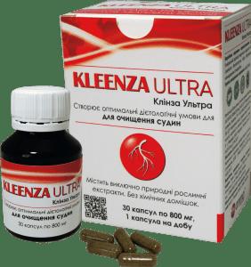 Клинза ультра, 30 капсул Amma - для очищения сосудов
