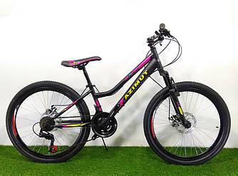 """Велосипед Azimut Pixel 24"""" GD рама 12"""