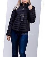 Куртка весна-осень черная укороченая