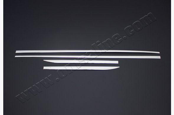 Молдинг дверной (4 шт, нерж) BMW X1 E-84 2009-2015 гг.