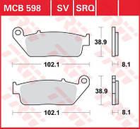 Тормозные колодки передние SUZUKI Burgman AN 650 Skywave / Execut (2003-2015) LUCAS MCB598