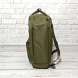 Молодежный рюкзак сумка Fjallraven Kanken Classic канкен классик Хаки haki + подарок Vsem, фото 4