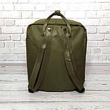 Молодежный рюкзак сумка Fjallraven Kanken Classic канкен классик Хаки haki + подарок Vsem, фото 5