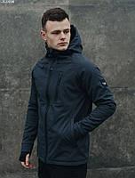 Мужская легкая весенняя куртка Staff soft shell Solar grafit LBL0094
