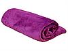 Плед для новорожденного в кроватку плюшевый велсофт 100х150 Фуксия, фото 2
