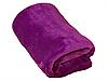 Плед для новорожденного в кроватку плюшевый велсофт 100х150 Фуксия, фото 5