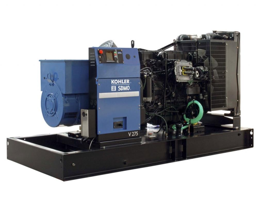 Трехфазный дизельный генератор SDMO V275 C2 (220 кВт)