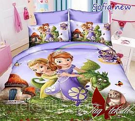 Комплект постельного белья подростковый Sofia new