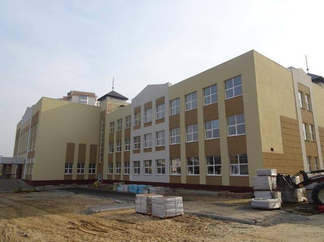 Нова гімназія у Бучі