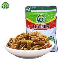 Jixiangju хрустящая маринованная фасоль с острым перцем  80г