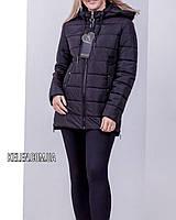 Куртка весна-осень черная матовая  размеры, фото 1