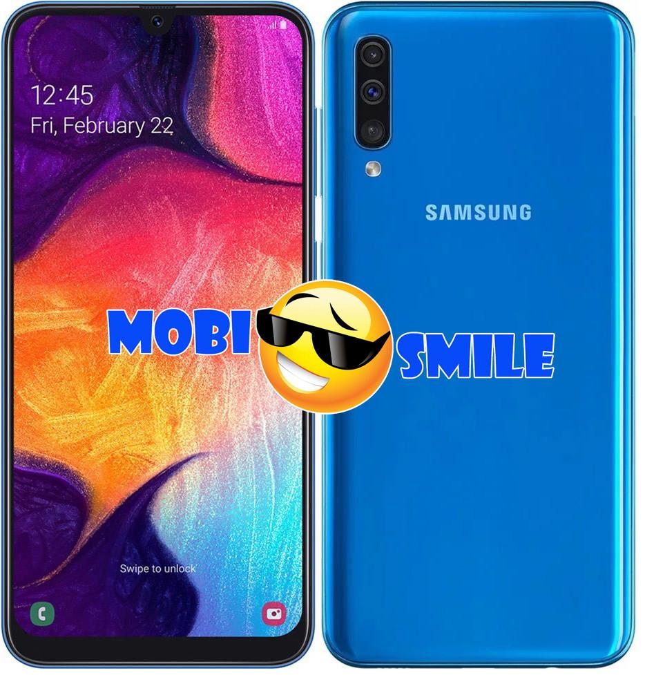 Смартфон Samsung Galaxy A50 4/64GB (SM-A505FZKUSEK) Оригинал Гарантия 12 месяцев