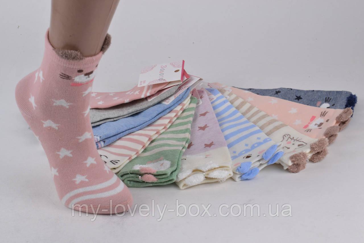 ОПТОМ.Детские Хлопковые носочки Мордочки (D351/24-28)   10 пар