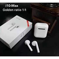 Беспроводные Bluetooth наушники i10-MAX TWS с кейсом White
