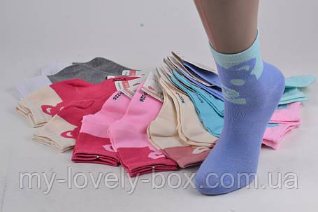 ОПТОМ.Носки Хлопковые на девочку (TKC226/35-40)   12 пар, фото 2