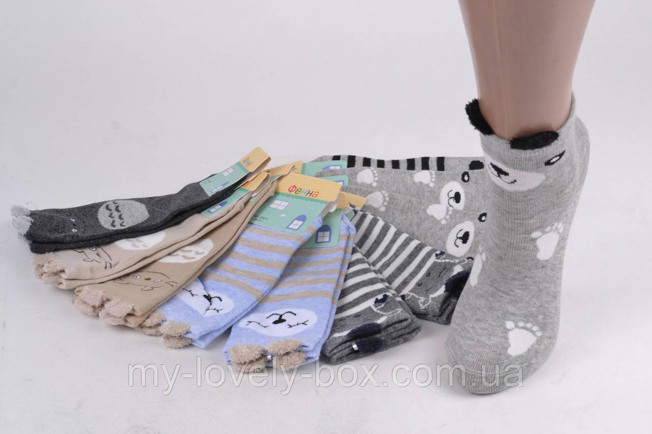 """ОПТОМ.Детские носки на девочку """"Фенна"""" ХЛОПОК (FEC010/24-27)   10 пар"""