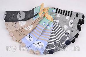 "ОПТОМ.Детские носки на девочку ""Фенна"" ХЛОПОК (FEC010/24-27)   10 пар, фото 2"