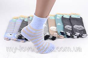 "ОПТОМ.Детские носки на девочку ""Фенна"" ХЛОПОК (FEC010/32-35) | 10 пар, фото 2"