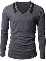 Трикотажный мужской пуловер, фото 1