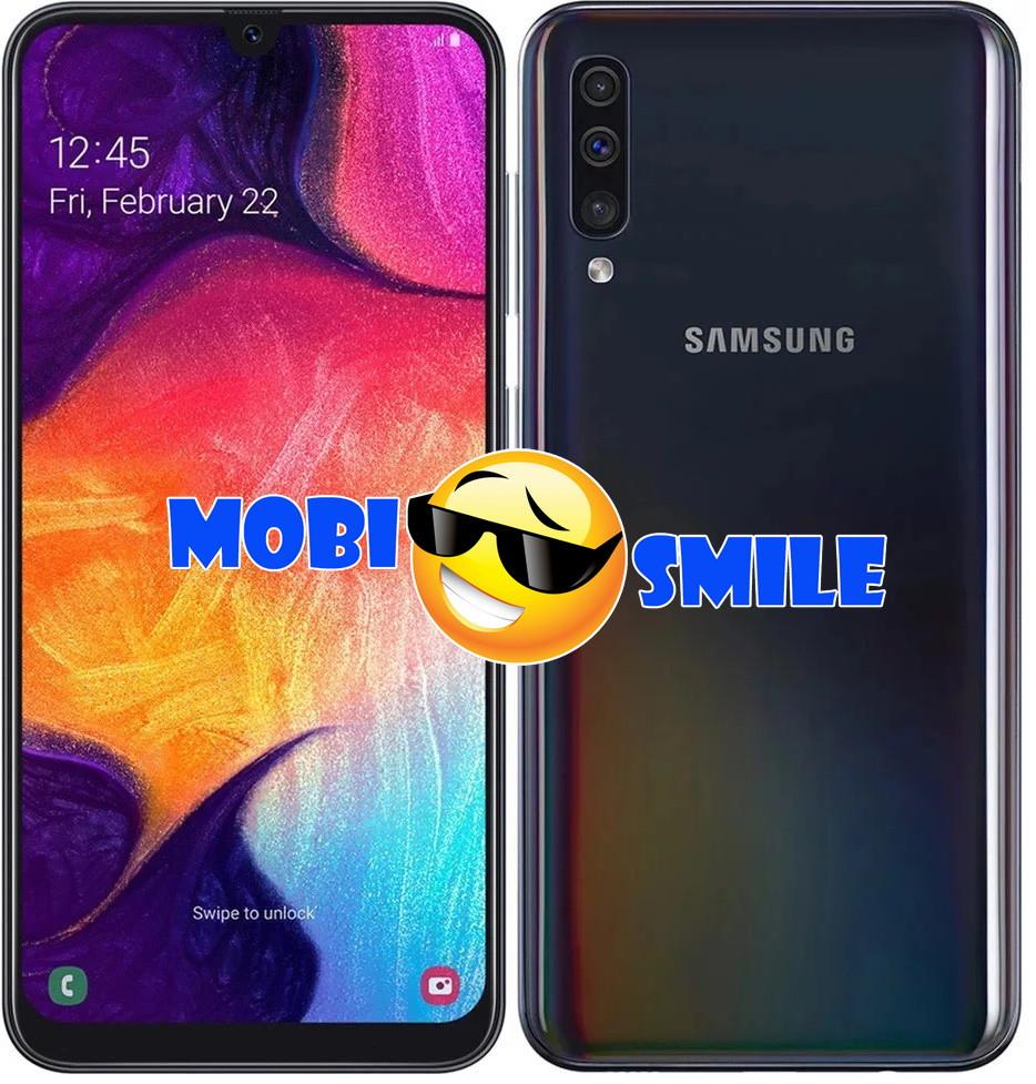 Смартфон Samsung Galaxy A50 4/64GB (SM-A505FZKUSEK) Оригинал Гарантия 12 месяцев Black
