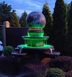 Фонтан  садовый вращающийся шар из натурального камня, Фонтаны для помещений, Фонтан плавающий шар, установка, фото 3